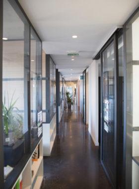 Long couloir à SFI